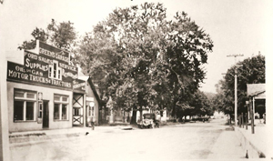 Green's Garage - East Mill Street