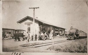 Railroad Station N. Railroad Avenue